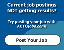 Start posting your jobs with AUTOjobs.com to get qualified automotive applicants.